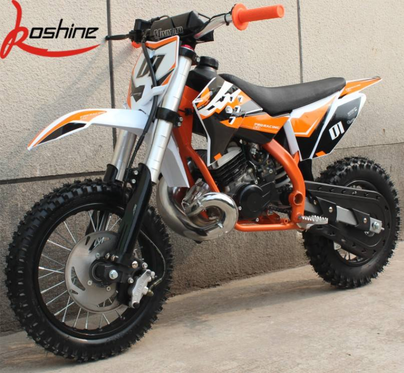 Koshine Moto Gas Powered 2 Stroke Kids Mini pocket Dirt Bike 50CC