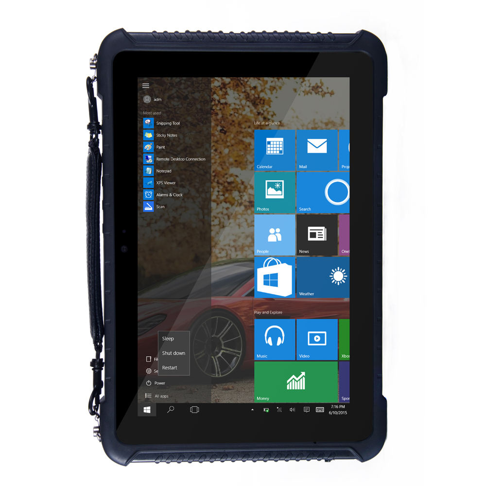 2016 Wifi Window 7 + XP 10 inch 3G Industrial Tablet PC