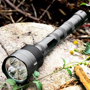 2200LM  Q5 LED C8 Flashlight Torch Lamp Light 18650 DN