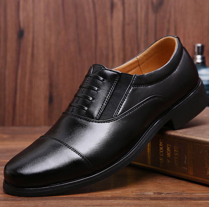 up-1131r Simple Business Dress Shoes PU Leather Men Shoes