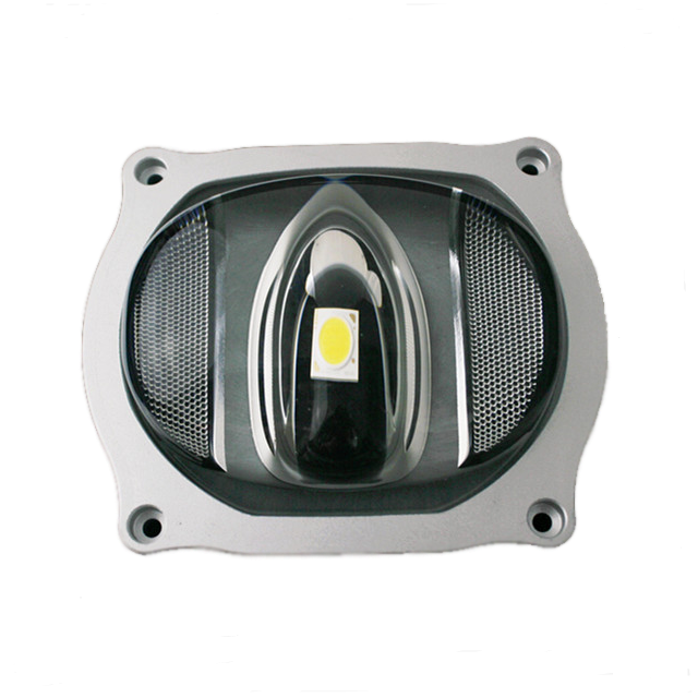 107*87mm Anti-Glare COB Glass Optical 10W-100W LED Lens With Holder And Gasket For LED Light