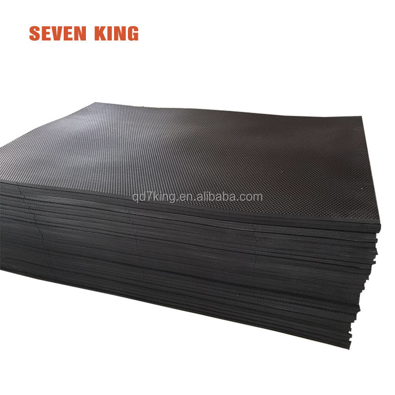China factory easy cleaning anti-skidding horse stall floor rubber mats