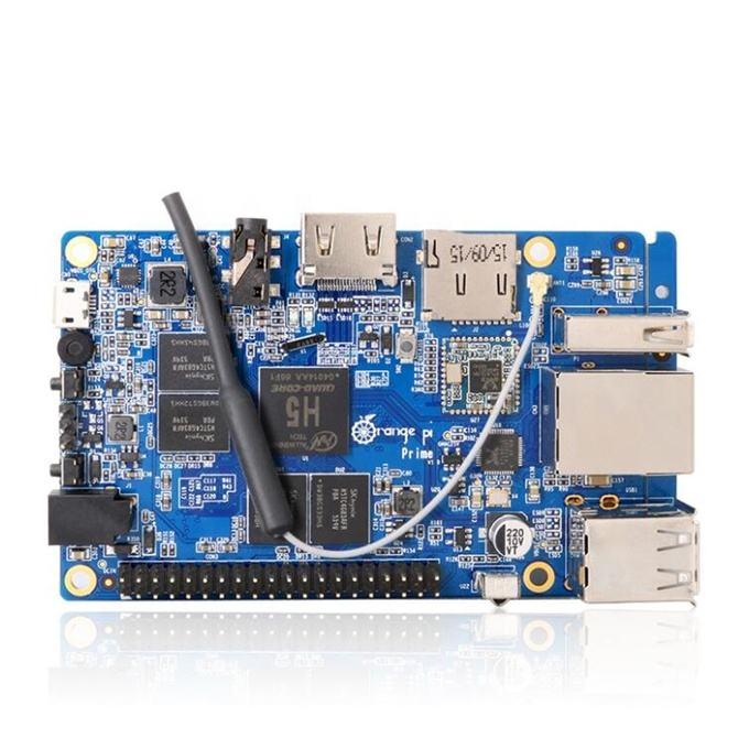 Hot selling Orange Pi Prime Development Board H5 Quad-core Support linux and android Beyond Raspberry Pi 2