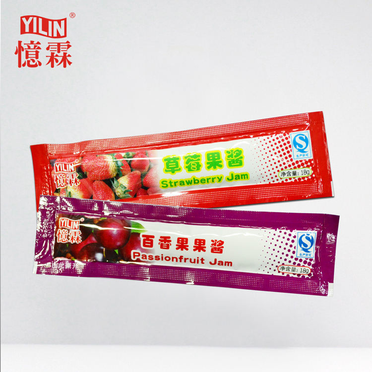 Professional Manufacturer 18g Strawberry Fruit Jam For Pearl Milktea