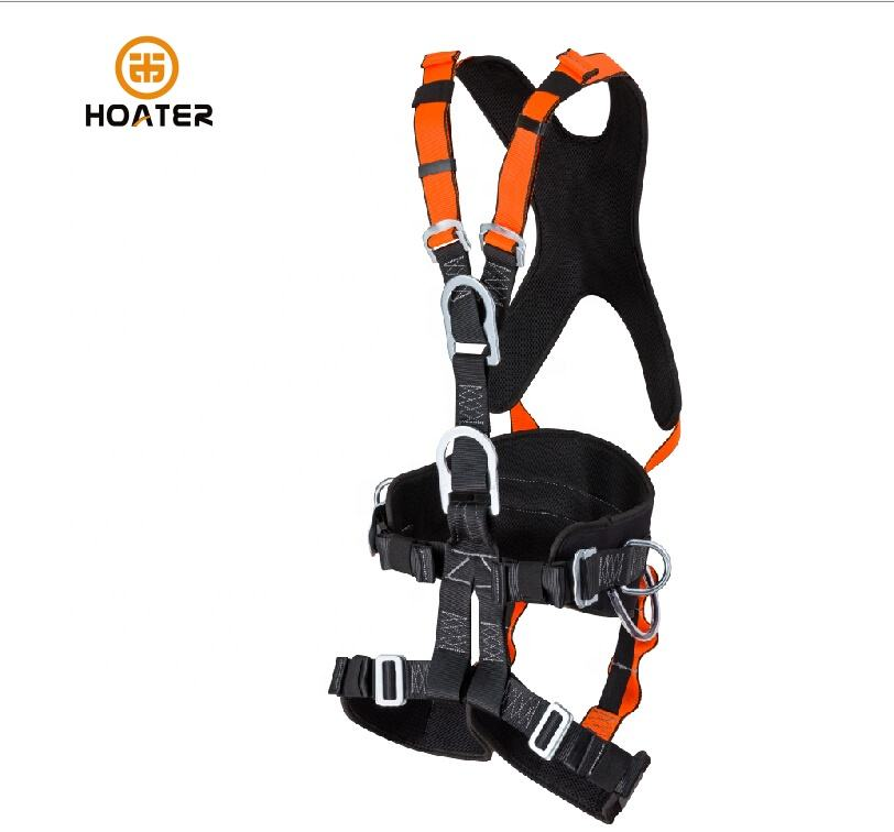 2019 Full Body Safety Harness can be use together with absorber lanyard