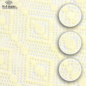 Großhandel mädchens kleid hohe qualität dacron mesh korallen spitze material bestickten stoff