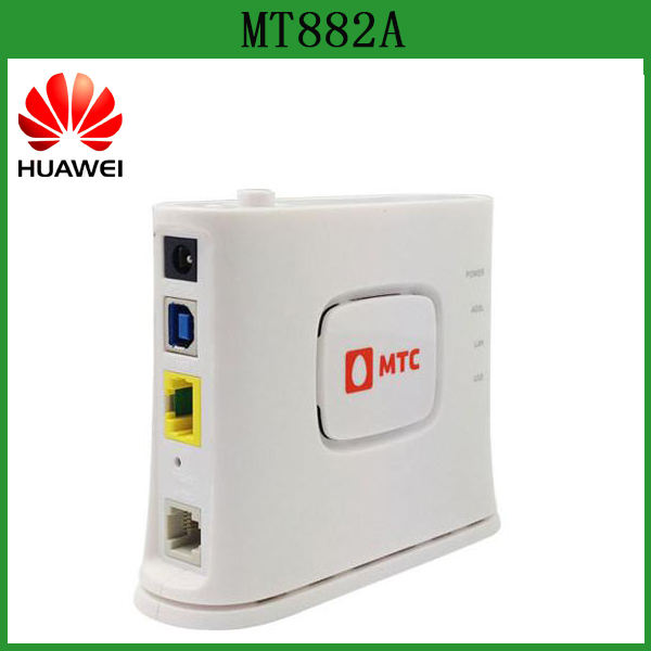 Original Huawei MT882A adsl2+ modem with USB and LAN port