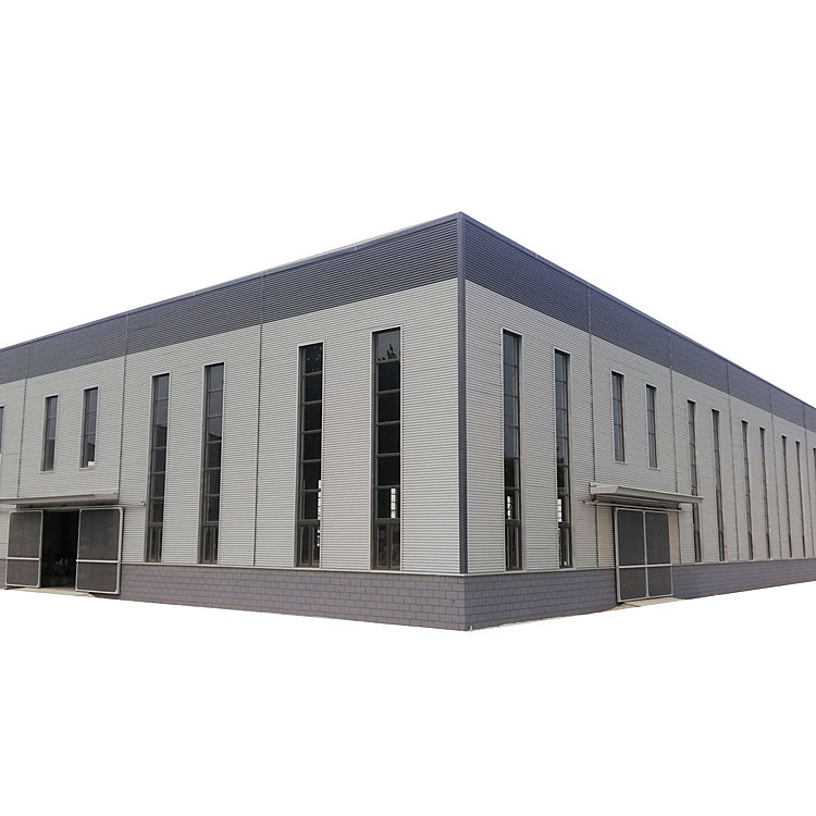 Sandwich Panel Light Steel Structure Construction Framework Prefabricated Building Warehouse