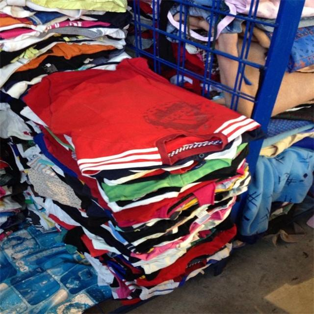 USA quality stock used clothes in bale used clothing bulk cargo for sale in container