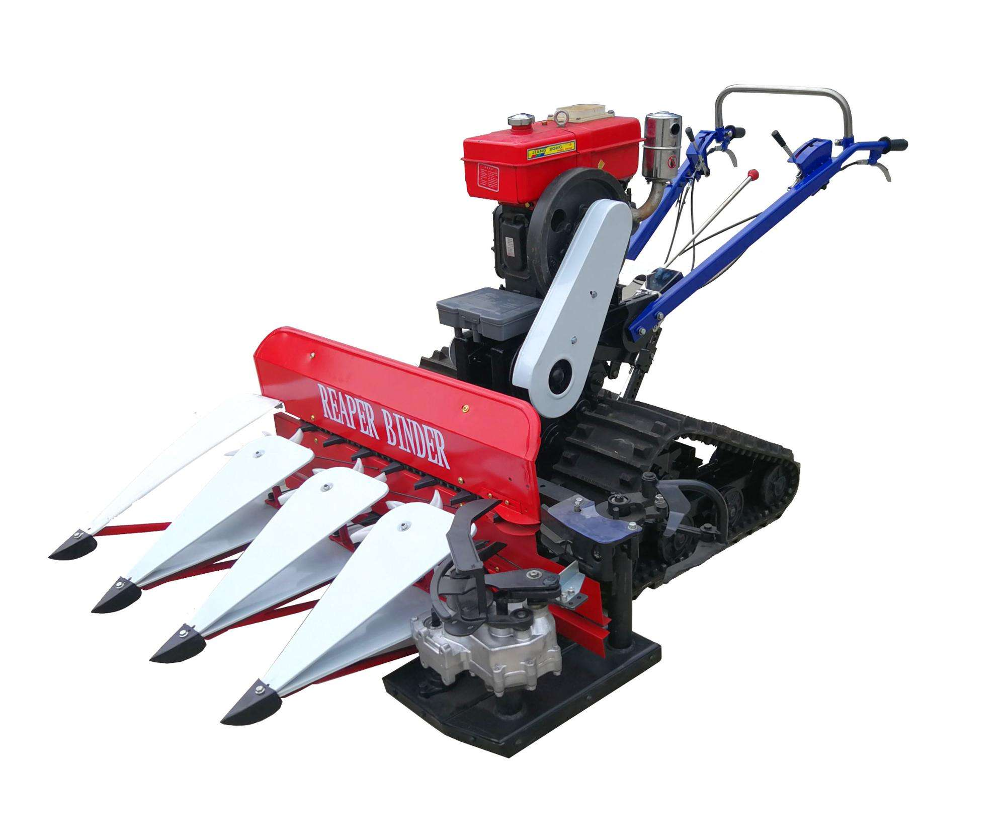 Multi function various fields farming machinery cutting crops grass power reaper paddy rice wheat cutter and binder machine