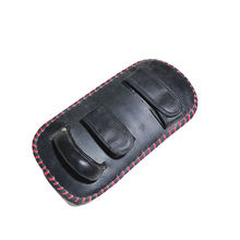 Professional Training Pu Leather Kick Boxing Kicking Target Muay Thai Kick Pads
