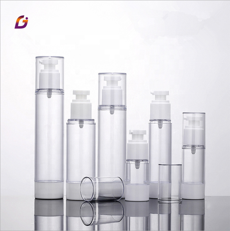 20ml 30ml 50ml 80ml 100ml 120ml luxury cosmetic airless pump bottle