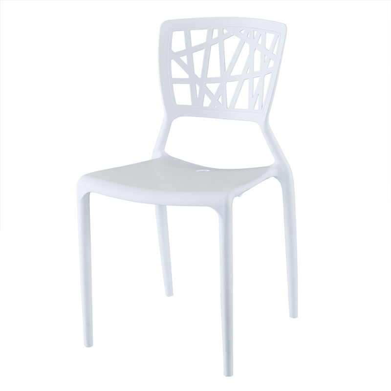 Wholesale colorful outdoor cheap plastic study stacking high back dining room chairs