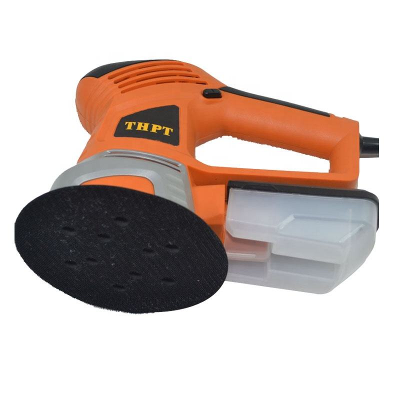 AJ46-150 Power Tools 450W 150mm Random Orbital Sander With Sanding Papers