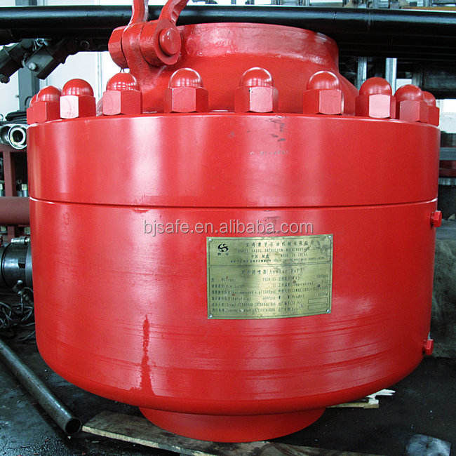 China Factory Baoji Safe Whosale Machine API Oilfield Equipment Annular Blowout Preventer Hydraulic Universal BOP