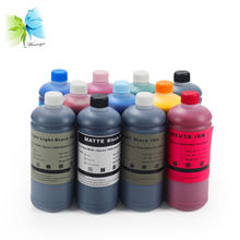 Art paper pigment printing ink for EPSON digital inkjet printers pigmented based coated paper ink l1800