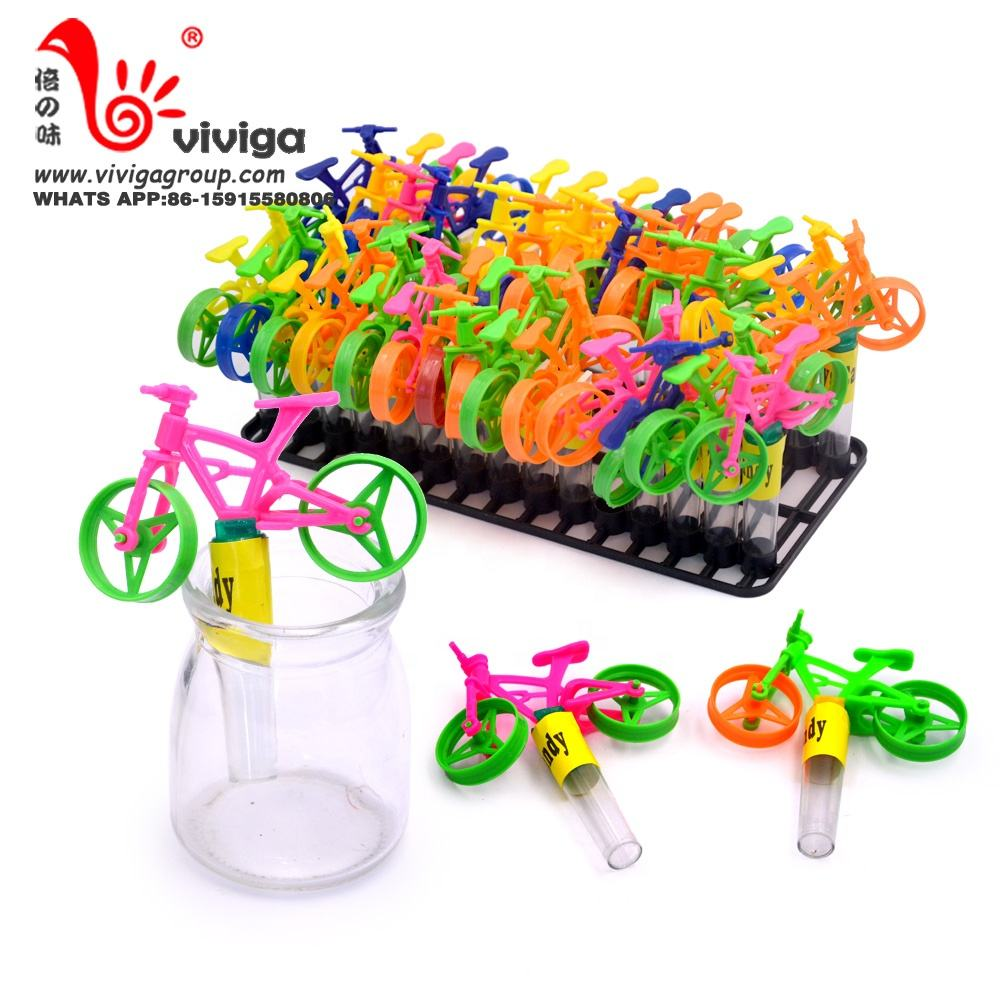 halal fruit press candy hard candy bike cartoon shaped toy candy plastic tray