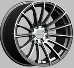 16x6.5 алюминиевого <span class=keywords><strong>сплава</strong></span> обода колеса черный реплики колеса 5x100-114.3 jwl колеса