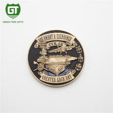 3D effects military troop metal coin for souvenir gift