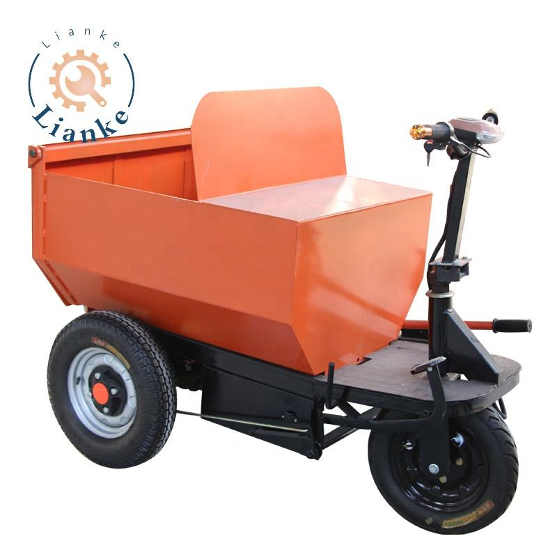 Chinese manufacturer mini dumper truck construction equipment use electric to drive