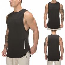 Custom Fashion Training Running Sports Gym Mens Tank Tops