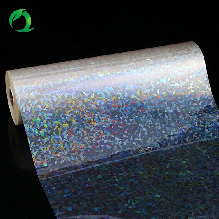 Hot new product custom strong adhesive holographic thermal lamination film