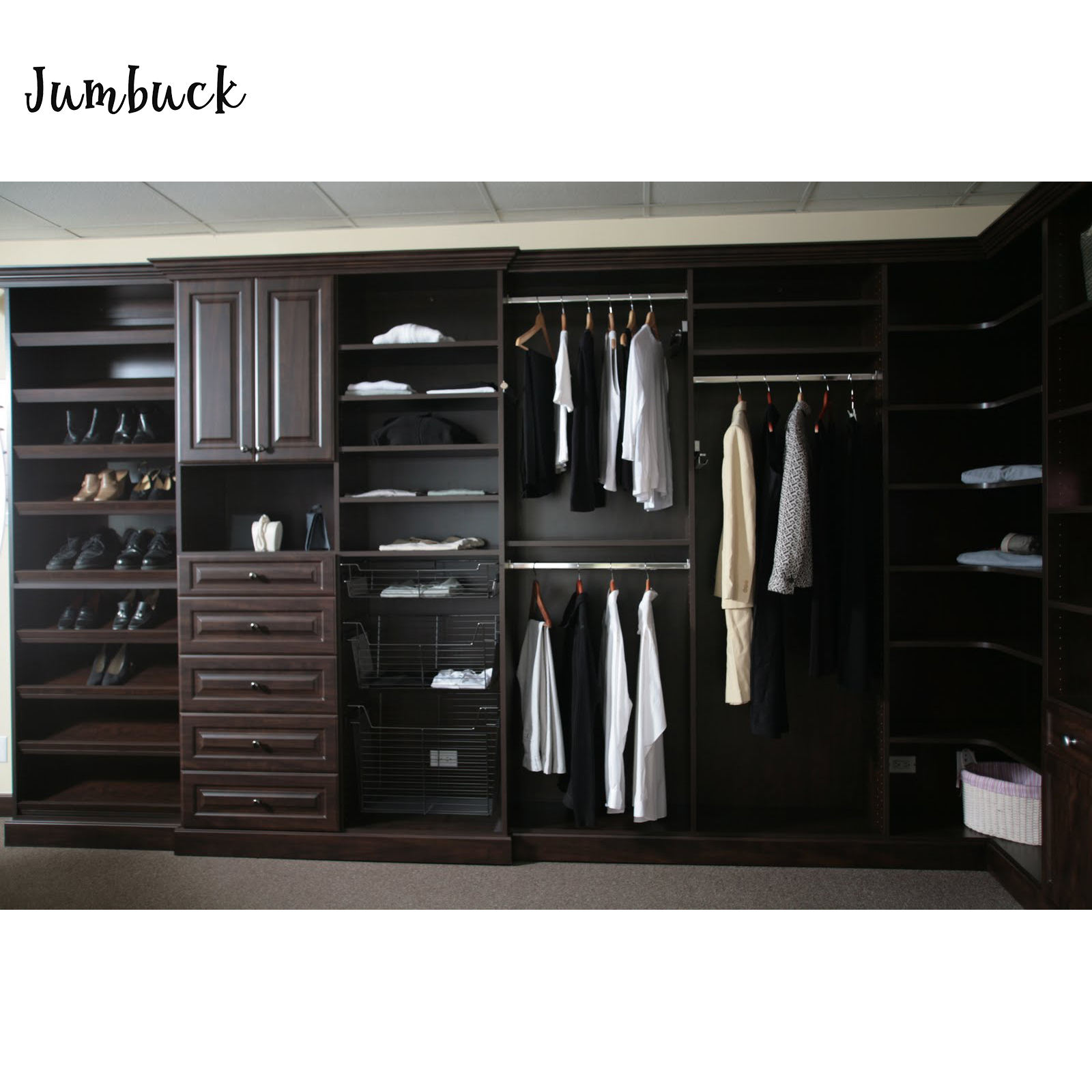 Cheap Black Wardrobe Cabinets Design Custom Made Wood Wall Bedroom Furniture