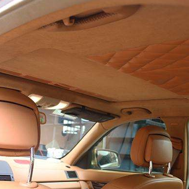 RS NONWOVEN high quality polyester car headliner fabric 100% polyester felt