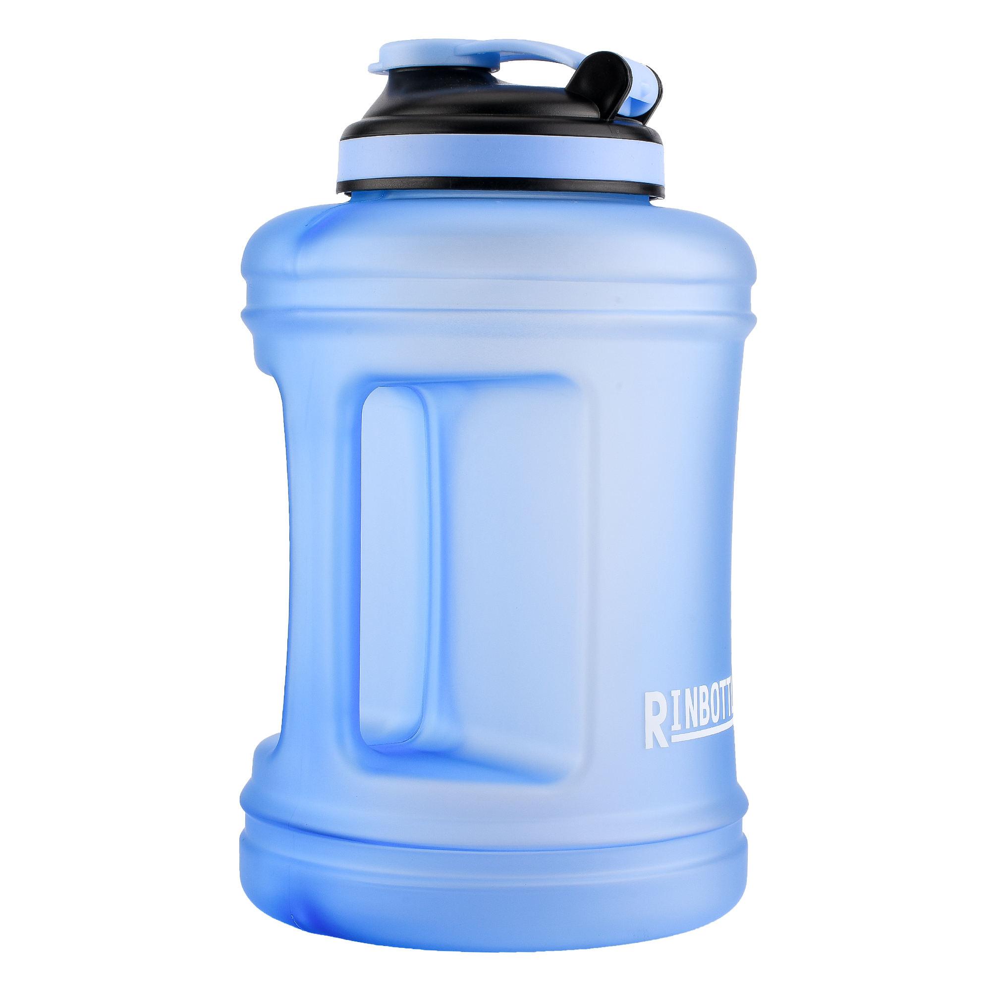 RINBOTTLE Large Water Bottle,Big Capacity Sports Water Bottle for Bodybuildin...
