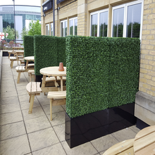 Customized Artificial Boxwood Hedge Fence Wall For Outdoor Decoration