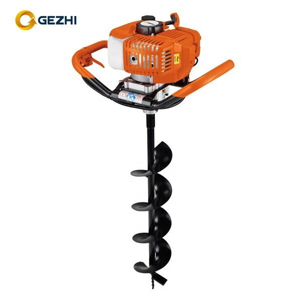 New design Professional 52cc engine gasoline earth auger