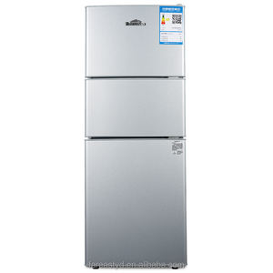Big capacity three door refrigerator, fridge