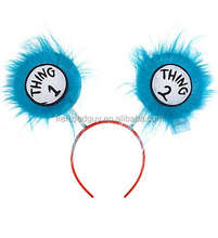 Dr. Seuss Thing 1 & Thing 2 Head Boppers