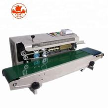 Hot Sale Automatic Horizontal Continuous Band Sealer Band Sealing Machine With Printer/ 0086-15038225650