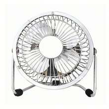 4 inch small 5V classic low noise personal mini metal usb fan