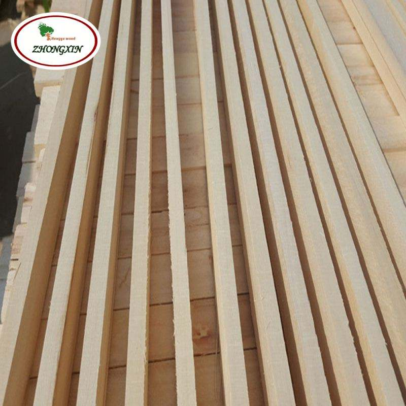 Paulownia Sawn Timber Wood Strips Of Larch And Construction