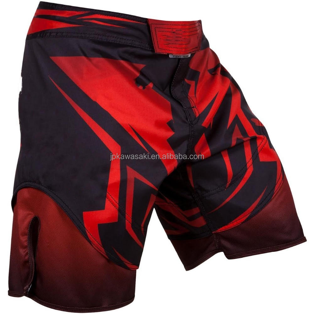 OEM service sublimiert qualität männer martial arts wear mma käfig kampf trunks shorts grappling crossfit kick boxing shorts