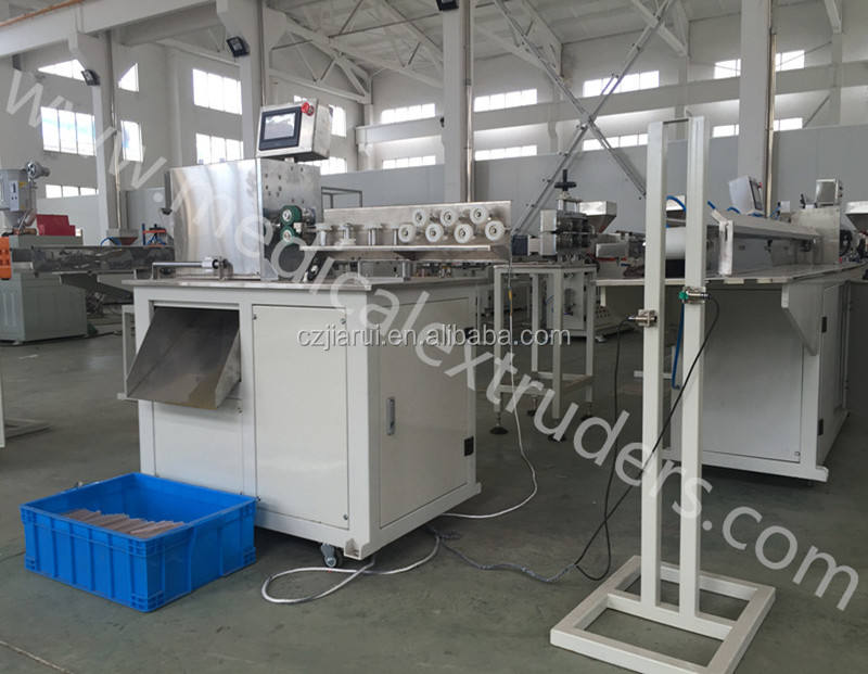Medical dental saliva ejector tube production machine/extruder making machine(ISO9001:2000, CE, 2020 new design)