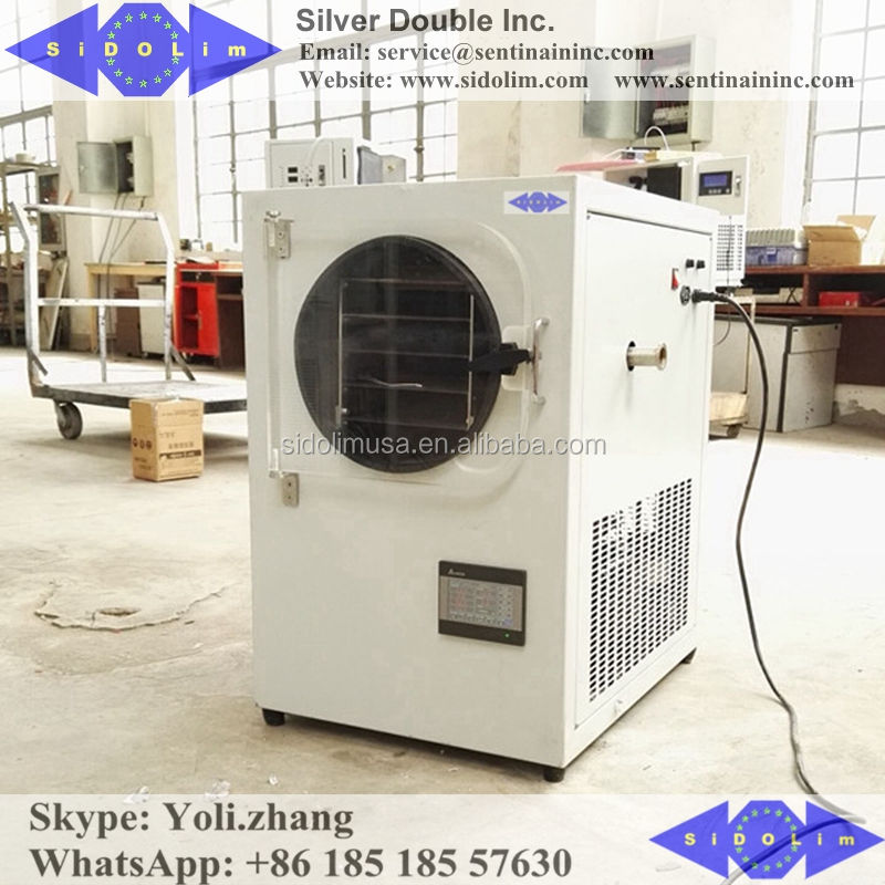 Vacuum Drying Equipment Fruit Industrial Freeze Dryer 120kg Lyophilization Machine