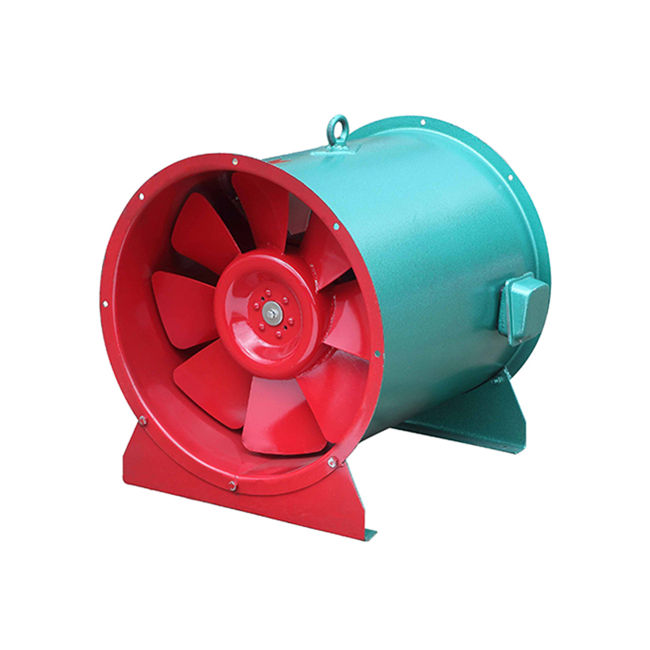 Guangzhou high temperature wind tunnel smoke fire exhaust ventilating fan