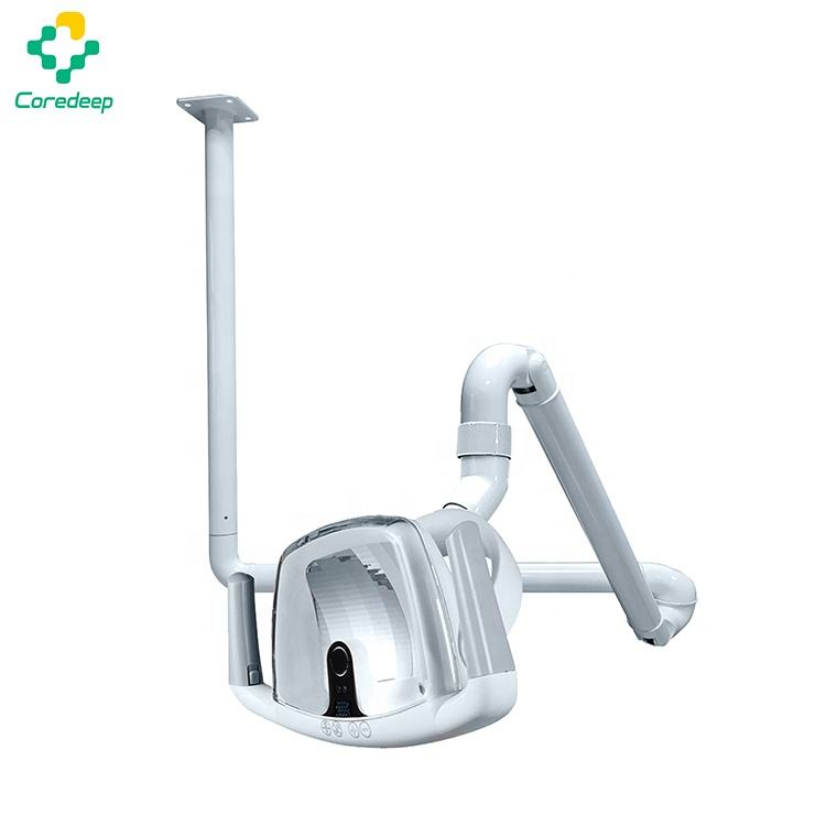 China dental ceiling mount arm led reflector operating light for dental unit chair
