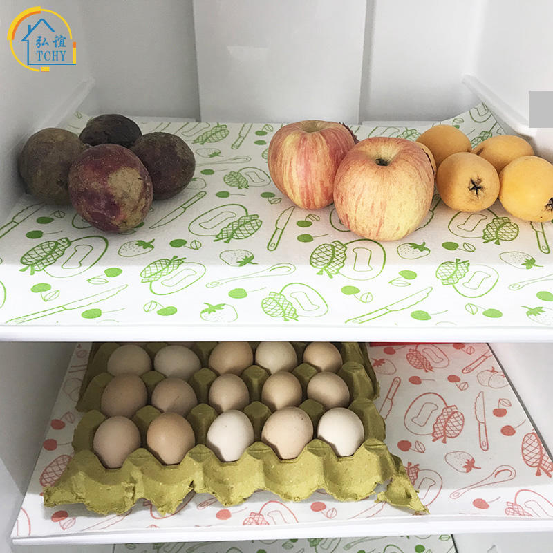 8PCS Refrigerator Mats,Can Be Cut Refrigerator Pads EVA Shelf Liners Refrigerator Liners Washable Fridge Mats Drawer Table