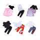 New arrival ruffle off shoulder set boutique clothing children kids girl clothes