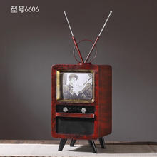 Retro Nostalgic TV Home Decoration Accessories Vintage Europe Figurines Home Gifts Ornament