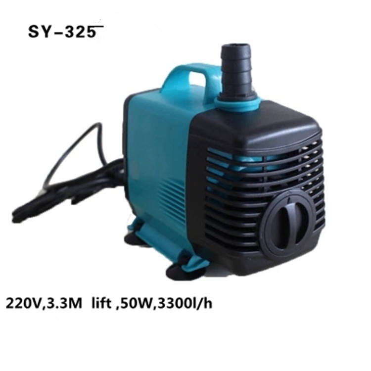 Submersible Water Pump Hydroponic system for Aquarium Rockery Fountain Fish Pond Tank 220-240V EU Plug Aquarium Pumps