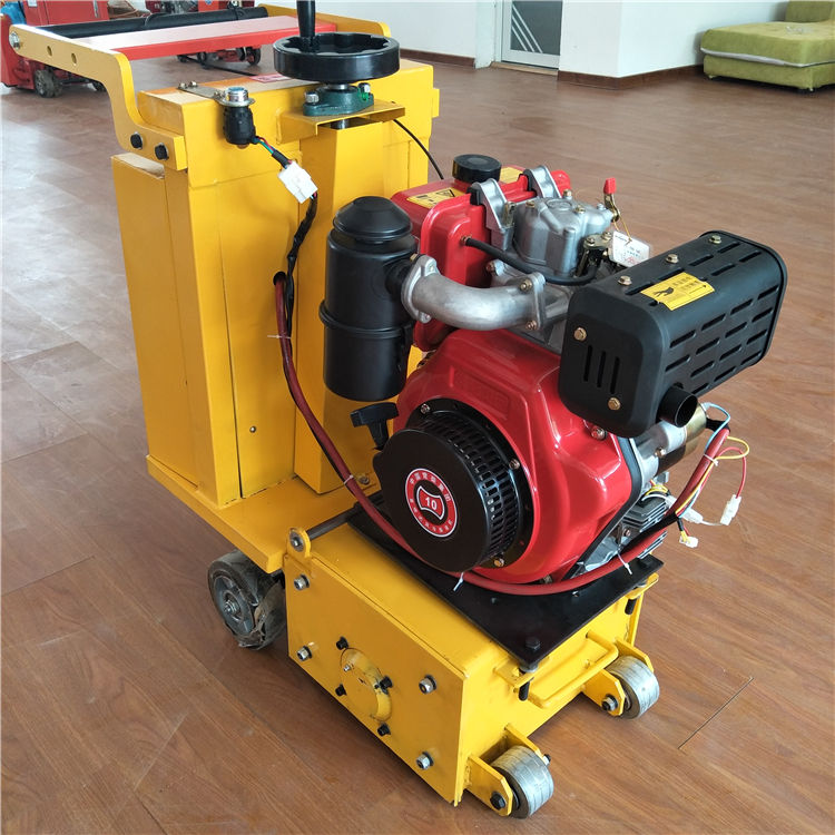 small concrete scarifier minlling machine