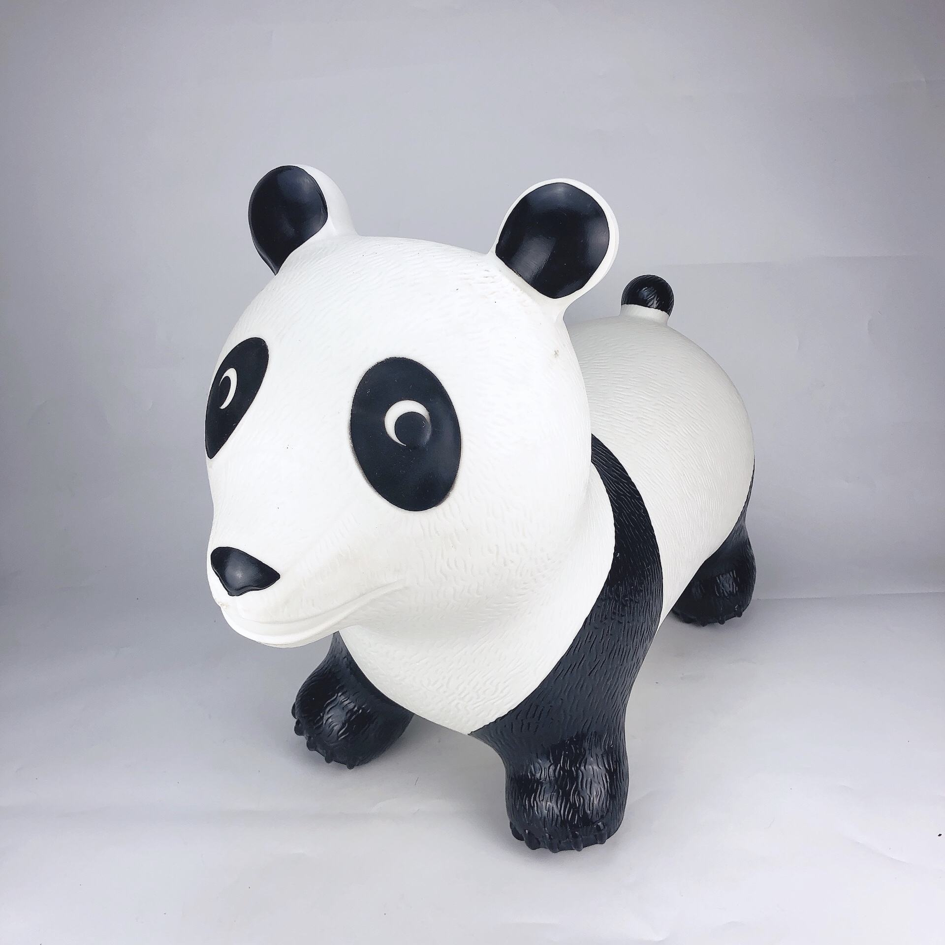 Wholesale high quality jumping bouncing inflatable animal panda toy for child