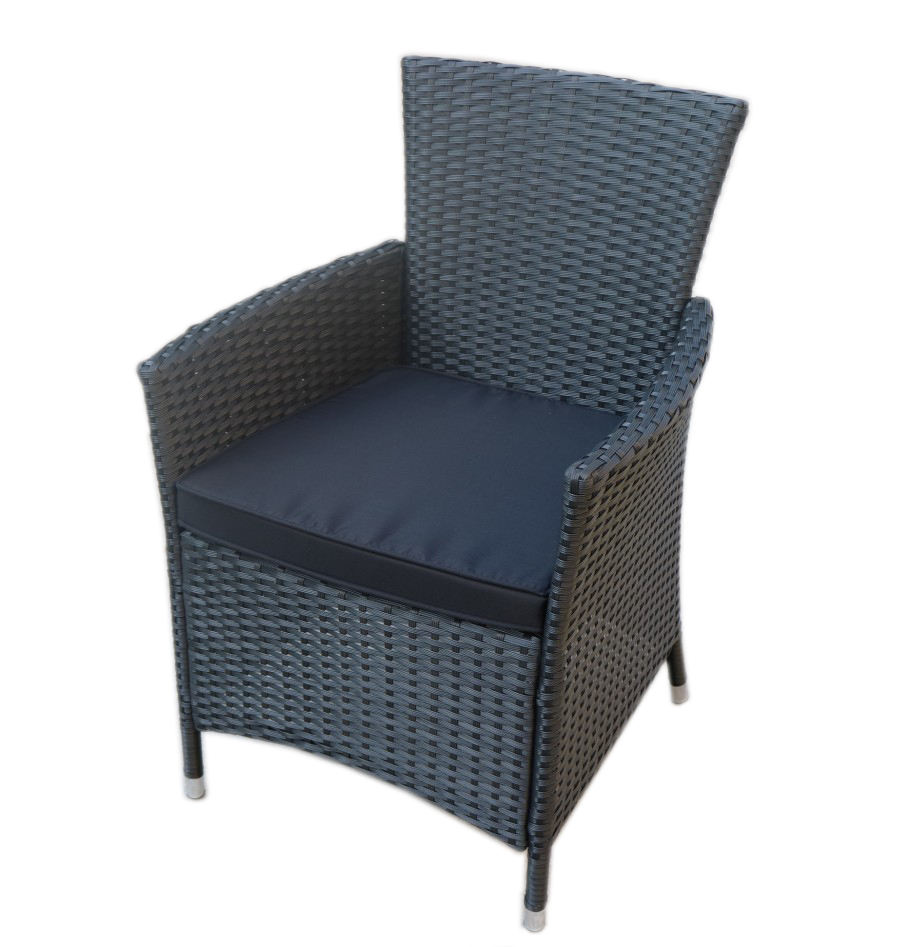 Outdoor Garden Dining Chairs Poly Rattan Chair