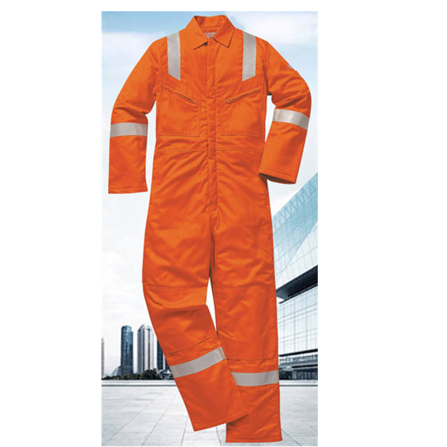 wholesale women/men safety orange coveralls military hi vis workwear coverall boiler suit