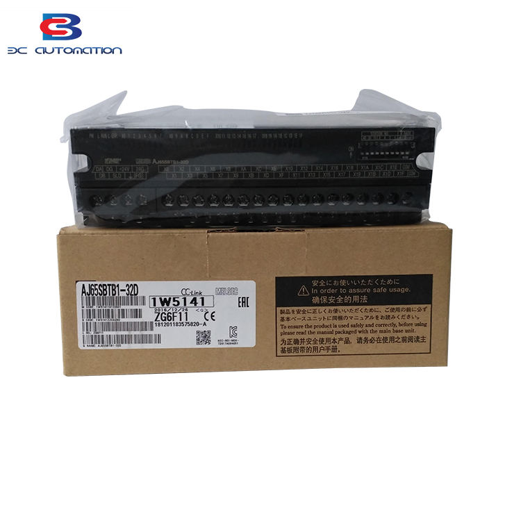 China supplier price center AJ65SBTB-32D Plc controller